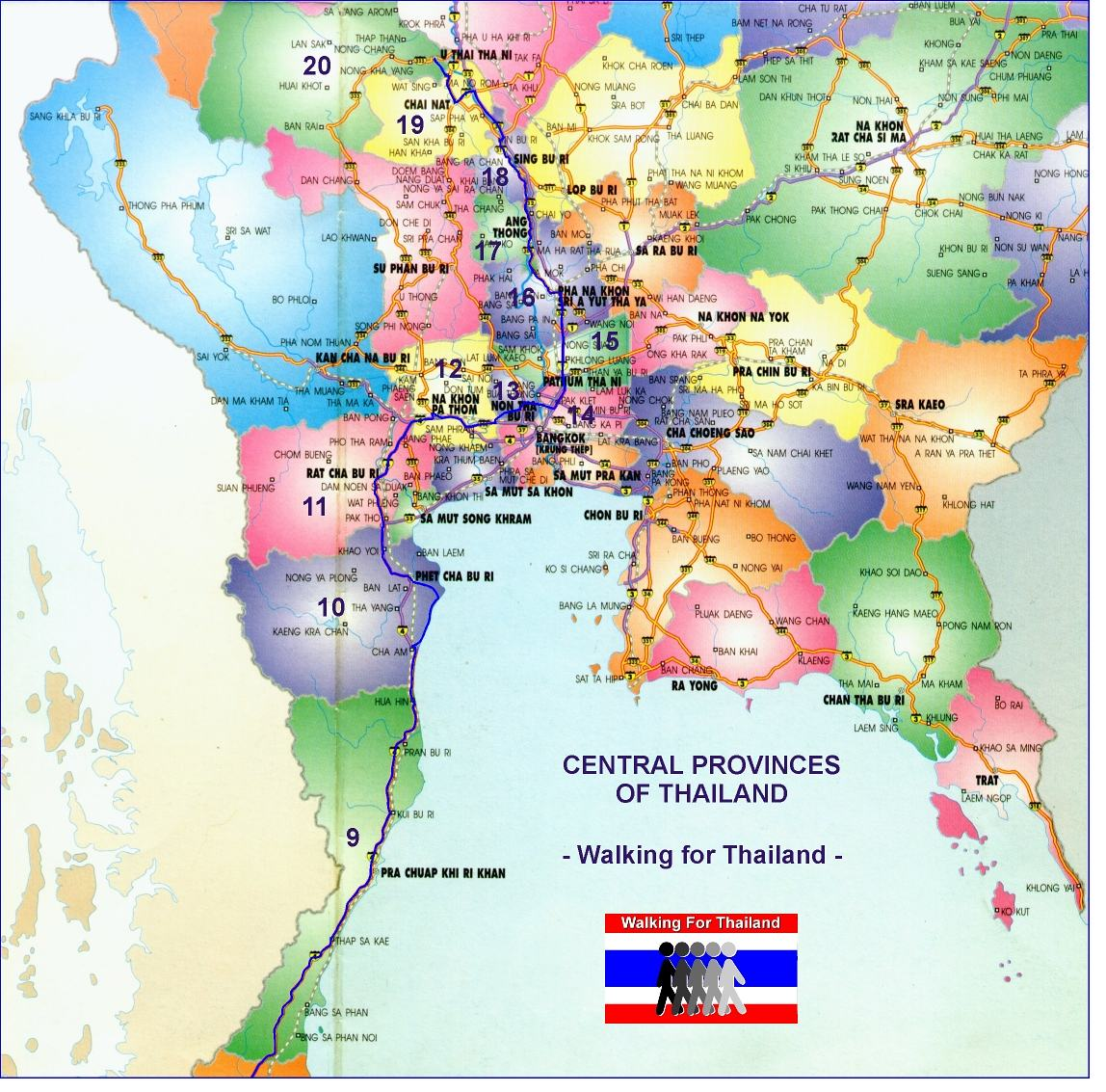 Thailand: Walking For Thailand