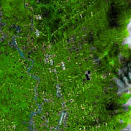The waterways North East of Bangkok