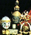 Early Khon Masks