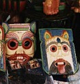 Khon Masks for the tourists